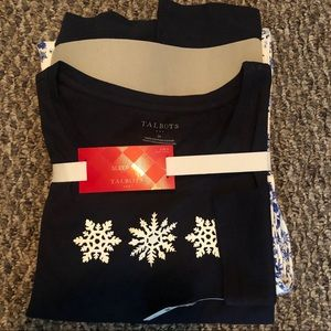 Talbots | Snowflake PJ Set